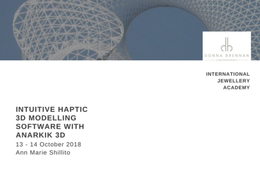 INTUITIVE HAPTIC 3D MODELLING SOFTWARE WITH ANARKIK 3D 13 - 14 Oct. '18